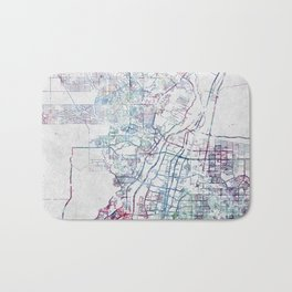 Albuquerque map Bath Mat