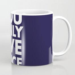 YOLO you only live once new art words 2018 Coffee Mug