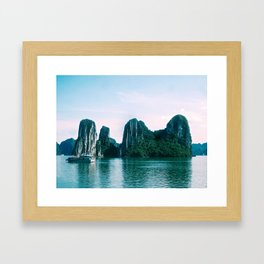 Ha Long Bay Framed Art Print