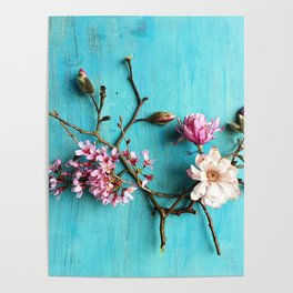 Flowers of Spring Poster