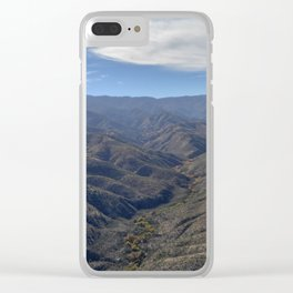 Mountain Beauty Part 4 Clear iPhone Case