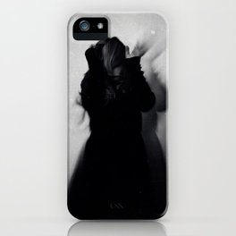 and nobody would ever see us any more iPhone Case