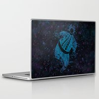 astronaut Laptop & iPad Skins featuring Astronaut by Colin Lawler
