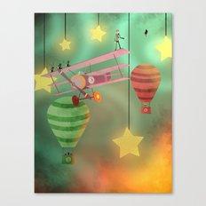 The Sky Show Canvas Print