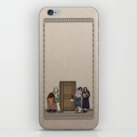 aragorn iPhone & iPod Skins featuring Rise and Shine by wolfanita