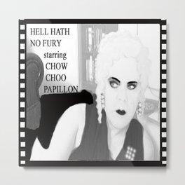 Hell Hath No Fury Metal Print