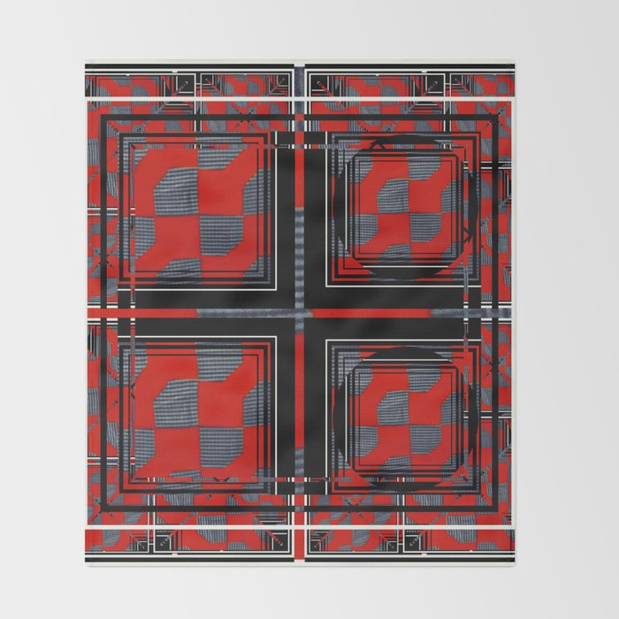 Bow Tie 6 Throw Blanket