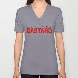 Defiant Bastard [Light] Unisex V-Neck