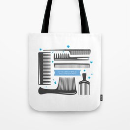 Land of afros Tote Bag