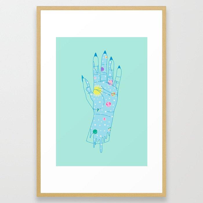 Higher - Illustration Framed Art Print