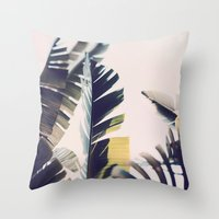 Stand Up Straight Throw Pillow