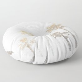 Tranquillity - gold dust Floor Pillow