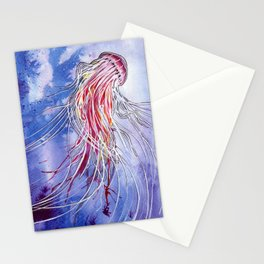 Medusa Jellyfish Stationery Cards