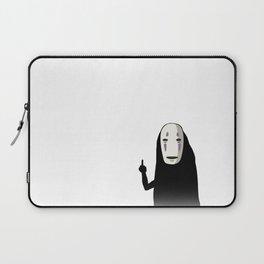 No Face and a Bird Laptop Sleeve