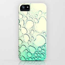 Raindrops? More like Rain Puddles iPhone Case