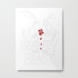 Beauty and the Beast 2017 Metal Print