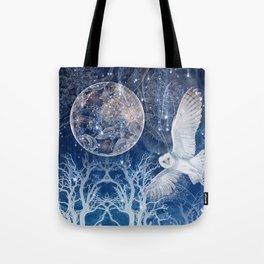 The Temple of the Full Moon Tote Bag