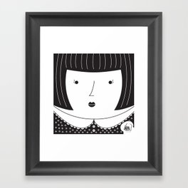 Lisbon Girl Framed Art Print