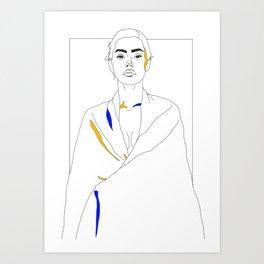 adrianne ho Art Print
