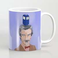 dr who Mugs featuring Dr Who  by Kervin