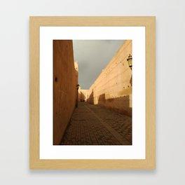 Kasbah Framed Art Print