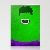 hulk Stationery Cards featuring Hulk by theLinC
