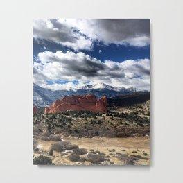 Pikes Peak - Colorado Springs Metal Print