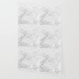 Light Grey Marble Silver Glitter Gray Wallpaper