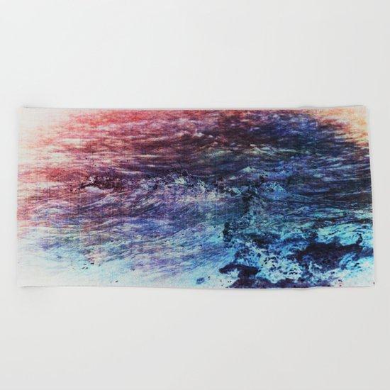 Waves I Beach Towel