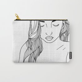 Nude Lines Carry-All Pouch
