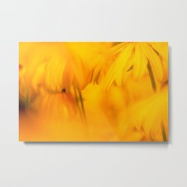 yellow blooms #society6 #decor #buyart Metal Print