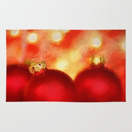 A Van Gogh Christmas Rug