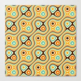 Retro Psychedelic Canvas Print
