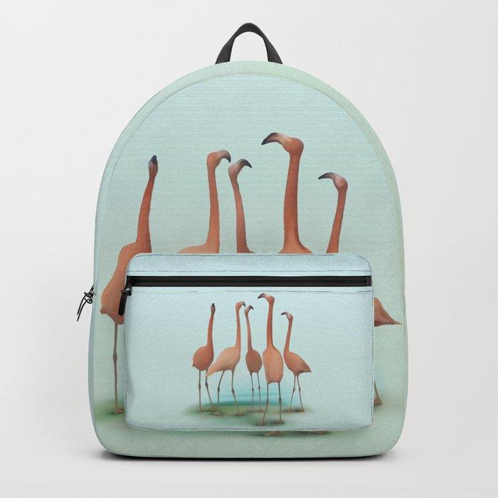 Flamingo Mingle Backpack