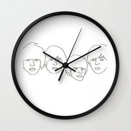 GeorgeJohnRingoPaul Wall Clock