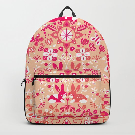 Bunny Lovers – Pink Palette Backpack
