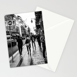 One Way Afternoon (Lisbon) Stationery Cards