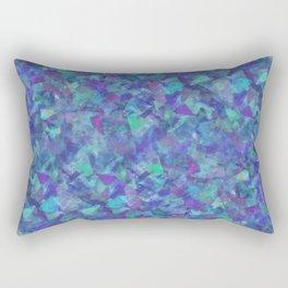 Iridescent Fragments Rectangular Pillow
