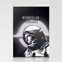 interstellar Stationery Cards featuring interstellar by Saalk