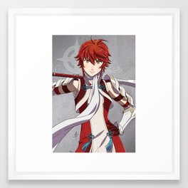 Hinoka Framed Art Print