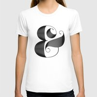ampersand T-shirts featuring Ampersand by Jude Landry