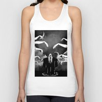 witchcraft Tank Tops featuring Witchcraft by Merwizaur