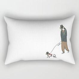 Boston Style Rectangular Pillow