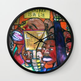2006 Only We Can Save We Wall Clock