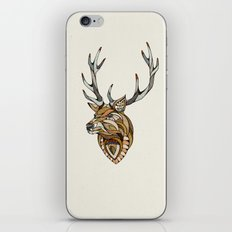 Deer // Animal Poker iPhone & iPod Skin