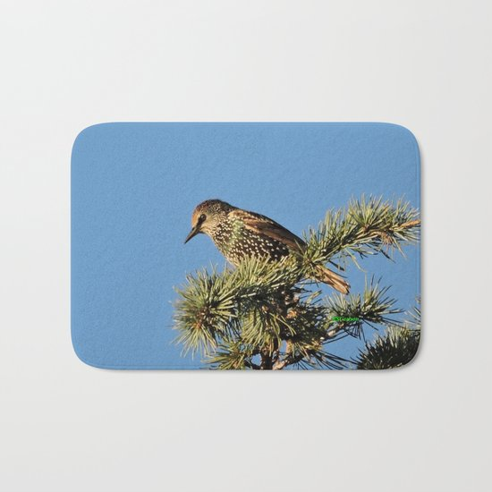 O My Starling, Clementine! Bath Mat
