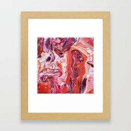 Groovy Lava Lamp Framed Art Print