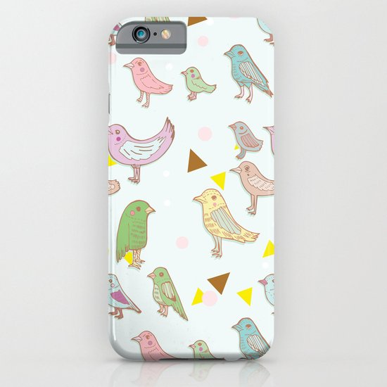 Bird Pattern iPhone & iPod Case
