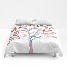 Watercolour Tree 6  Modern Watercolor Art   Abstract Watercolors Comforters
