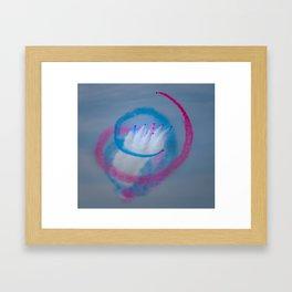 The Red Arrows Display Team Framed Art Print